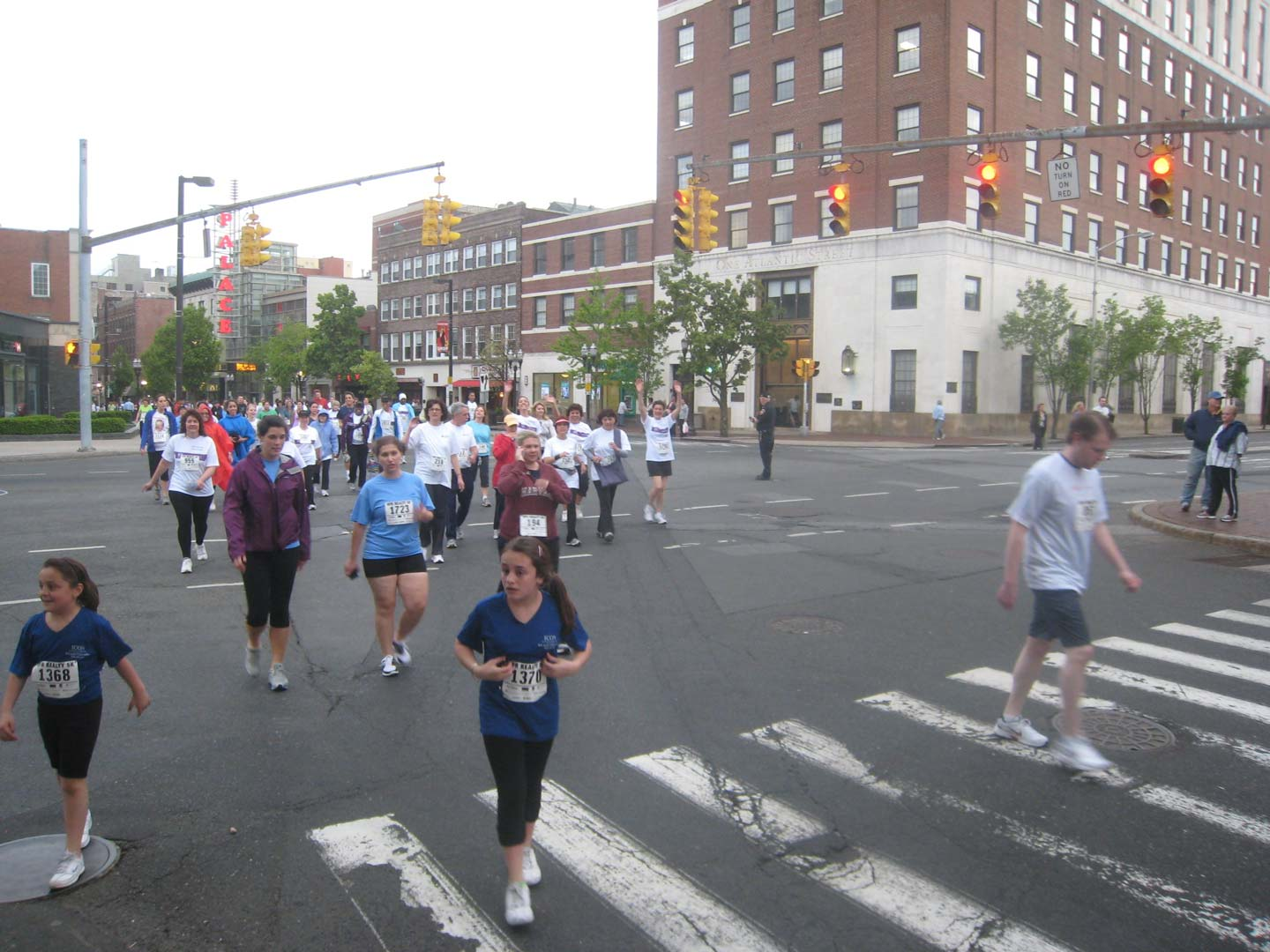 Running for charity